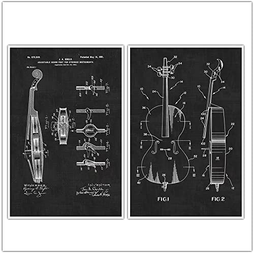 Amazon cello posters cello art music musical instrument cello posters cello art music musical instrument patent prints blueprint poster malvernweather Gallery