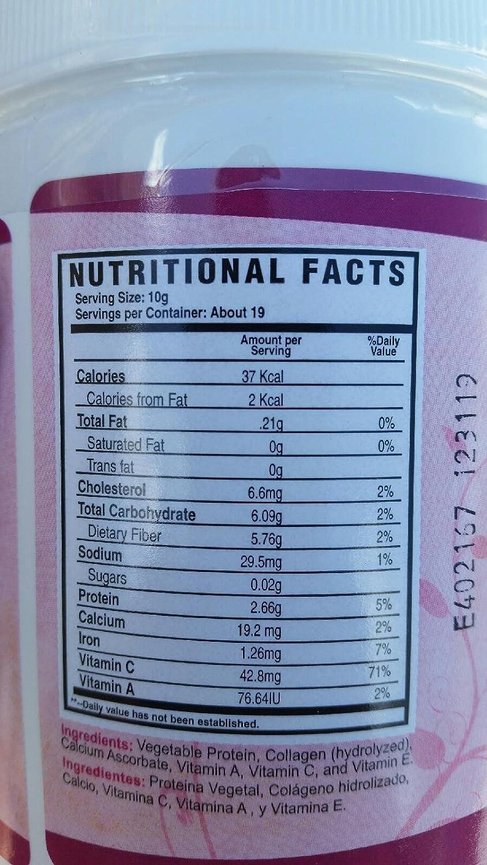 Amazon.com: Colageno en Polvo / Collagen in powder Hydrolyzed Supplement With Vitamin E: Health & Personal Care