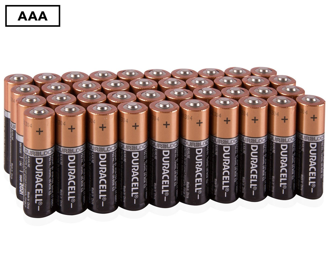 Amazon Com Duracell Mn1500 Duralock Copper Top Alkaline