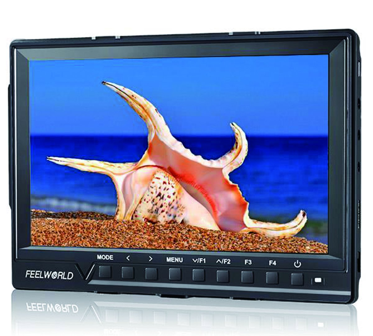 Feelworld FW760 Ultra HD 1920x1200 IPS 1080P HDMI Camera Audio Monitor Peaking for DSLR Cameras