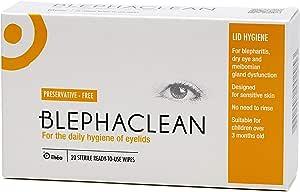 60 Blephaclean Sterile Eyelid Wipes For Blepharitis Freepost By FrontlineSellers.