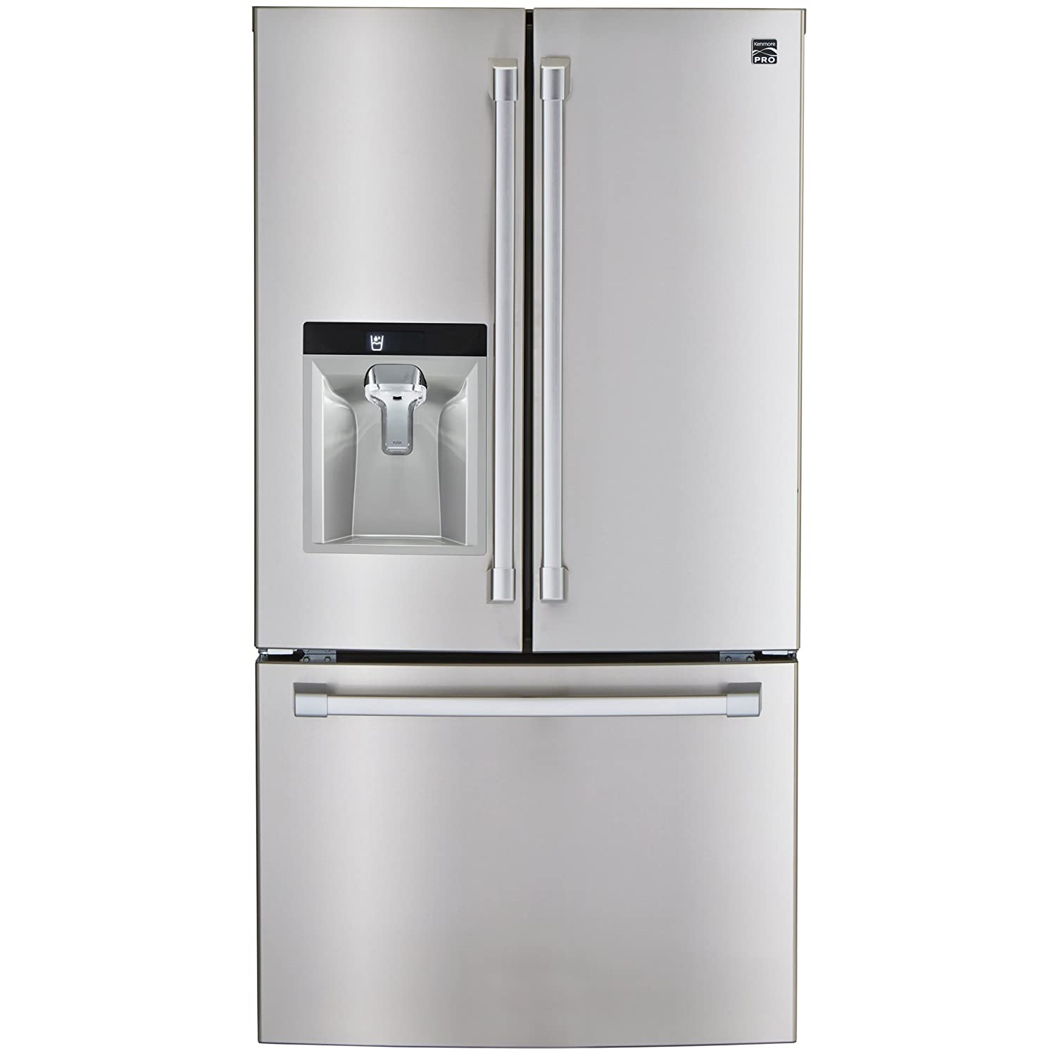 Amazon.com: Kenmore PRO 79983 29.8 cu. ft. French Door Bottom Freezer  Refrigerator in Stainless Steel -Works with Alexa, includes delivery and  hookup: ...