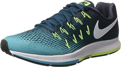 Nike de los hombres Air Zoom Pegasus 33, legión azul/blanco, Verde