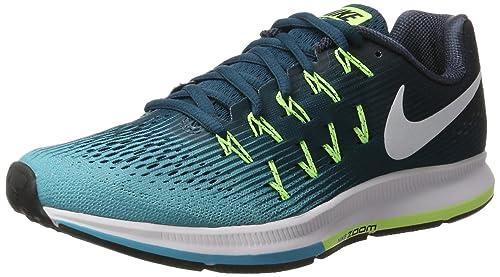 Nike Air Zoom Pegasus 33 Zapatillas de Running Hombre Azul (Legion