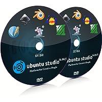 Ubuntu Studio 16.04.5 XFCE 32 Bit and 64 Bit Live Bootable Installation DVD