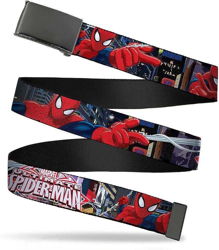 Spider-Man,Multicolor,3.5 x 2.5 Buckle-Down mens Buckle-Down Suspender