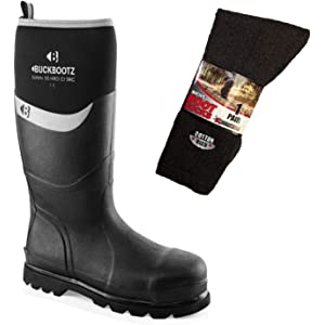Rock Fall RF290//009 Silt Neoprene Safety Wellington Boot Size 9 Navy