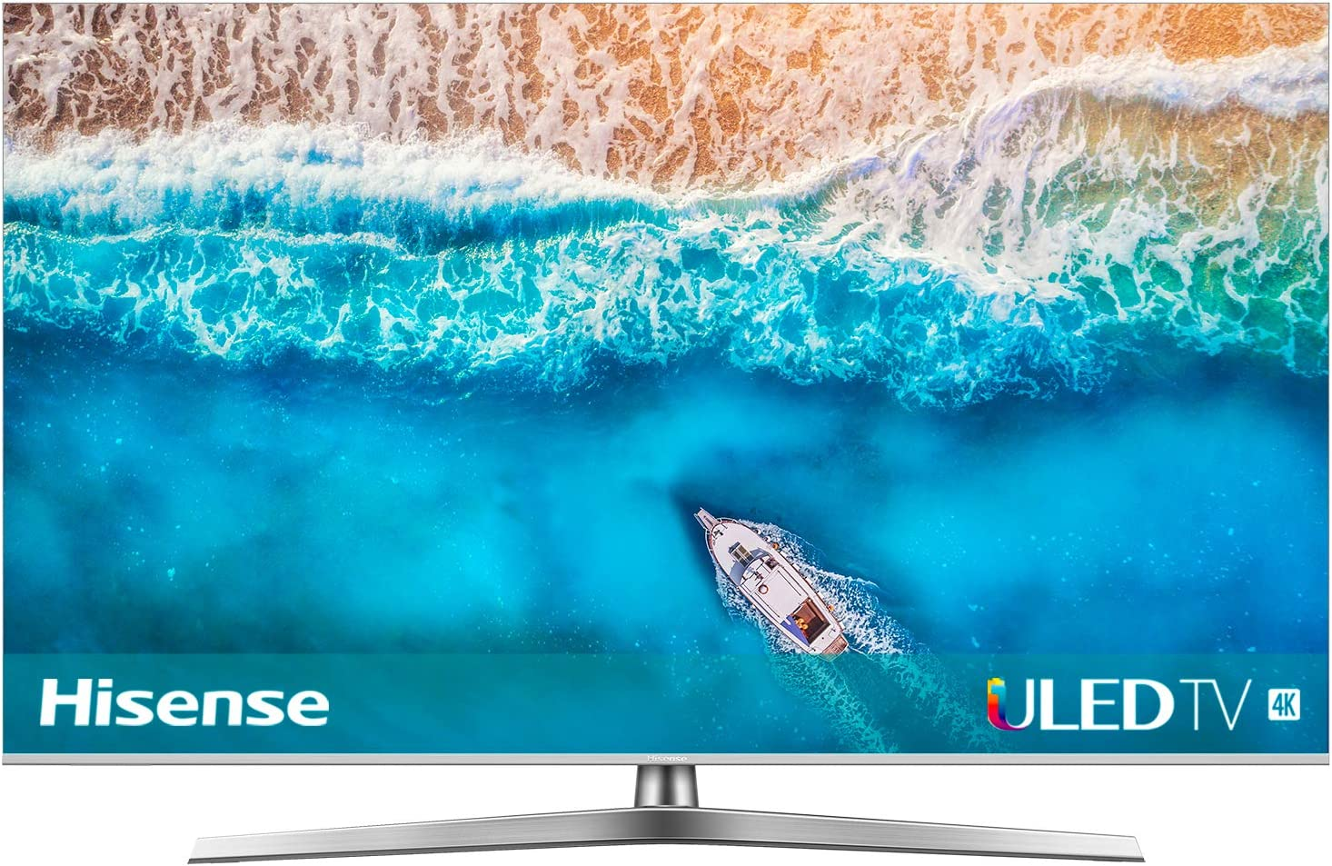 Hisense H65U7B - TV ULED 65 4K Ultra HD con Alexa Integrada, BT, Dolby Vision HDR 1000, Audio Dolby Atmos, Ultra Dimming, Procesador QC, Smart TV VIDAA U 3.0 con IA, Mando