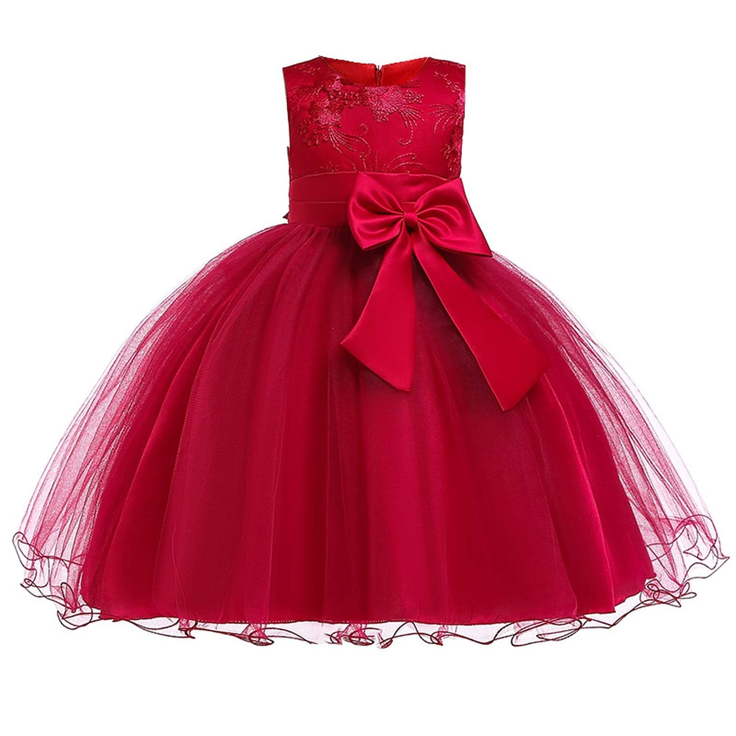 Girls Dress Summer Kids Dresses for Girl Princess Children Baby Tutu 2 3 4 5 6 7 8 9 10 Years,As Picture10,9 by Gooding Day (Image #2)