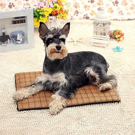 Dixinla Cama de Perro Lavable Estera del Animal doméstico Doble Cara Rota Gato Mat Mat Kennel