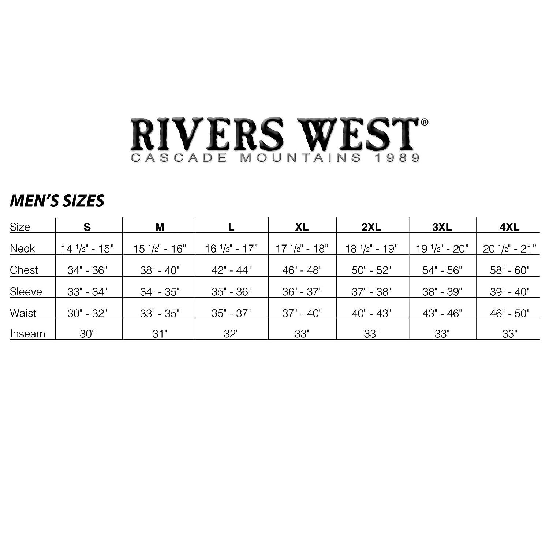 Rivers West Waterproof Windproof Fishing Gear Kokanee Bib