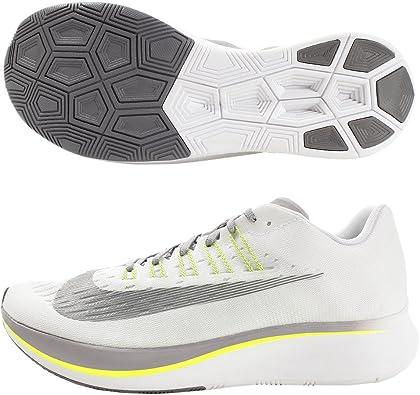 Nike Zoom Fly, Zapatillas para Hombre, Multicolor (White/Gunsmoke/Atmosphere Grey/Volt 001), 40 EU: Amazon.es: Zapatos y complementos