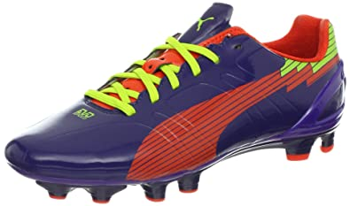PUMA Women's Evospeed 3 FG Soccer Cleat,Astral Aura/Orange/Prism,7