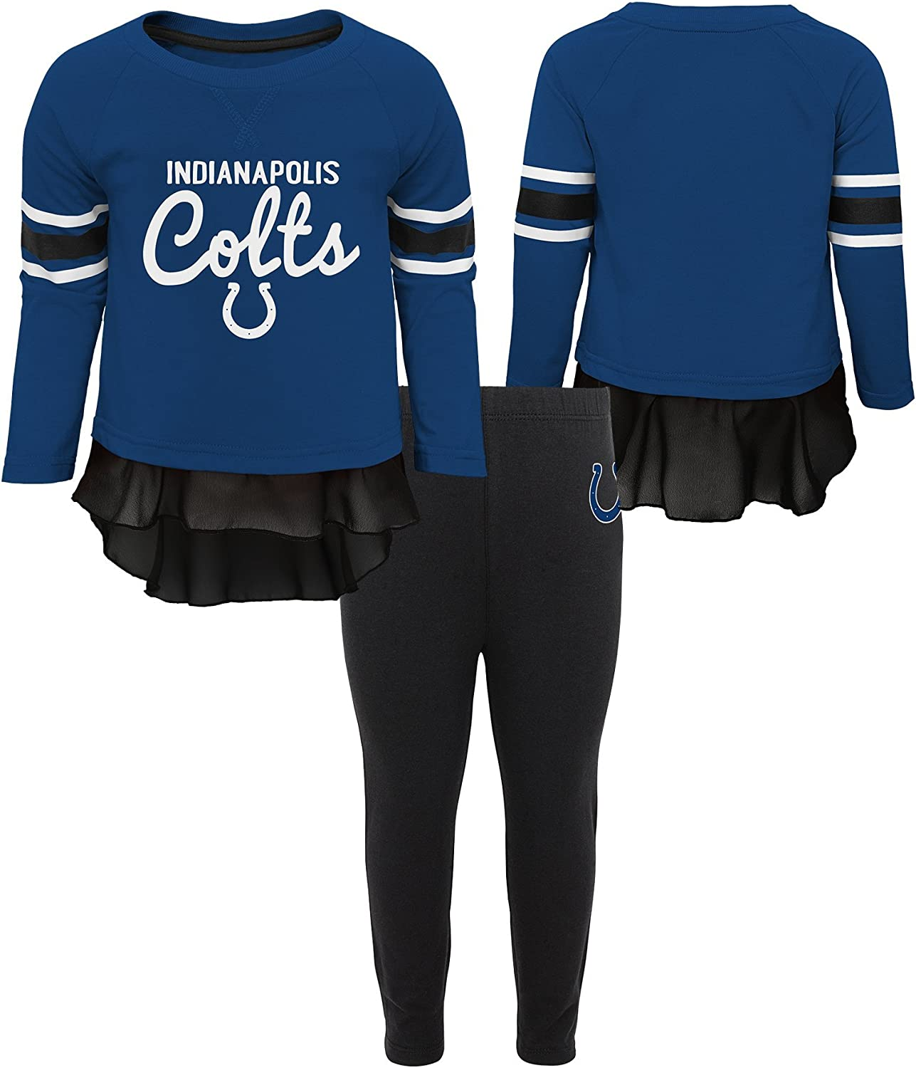 Outerstuff NFL Baby-Girls Mini Formation Long Sleeve Top /& Legging Set