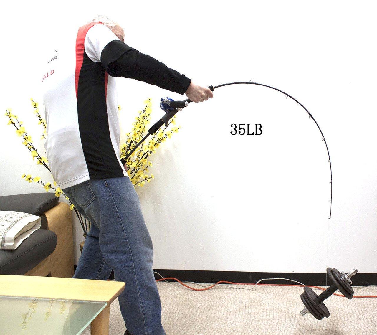 Jigging WorldゴーストハンターSlowピッチJiggingロッド300 g -350 G B0184PLOJ8 Slow Pitch 300g