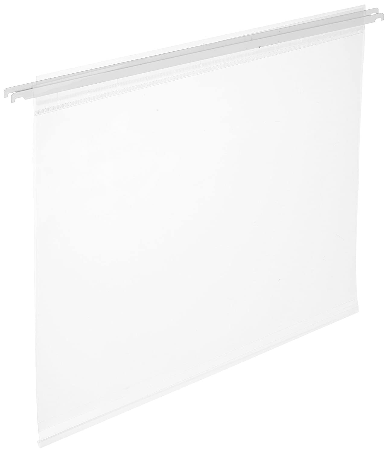 IRIS USA 150585 12 x 12 Hanging File Folders (3 Pack), Clear Inc.