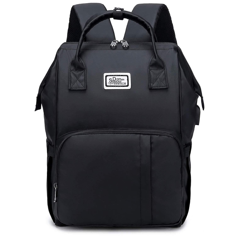 Laptop Backpack Stylish Work Travel Computer Bagpack USB Daypack Anti-Theft