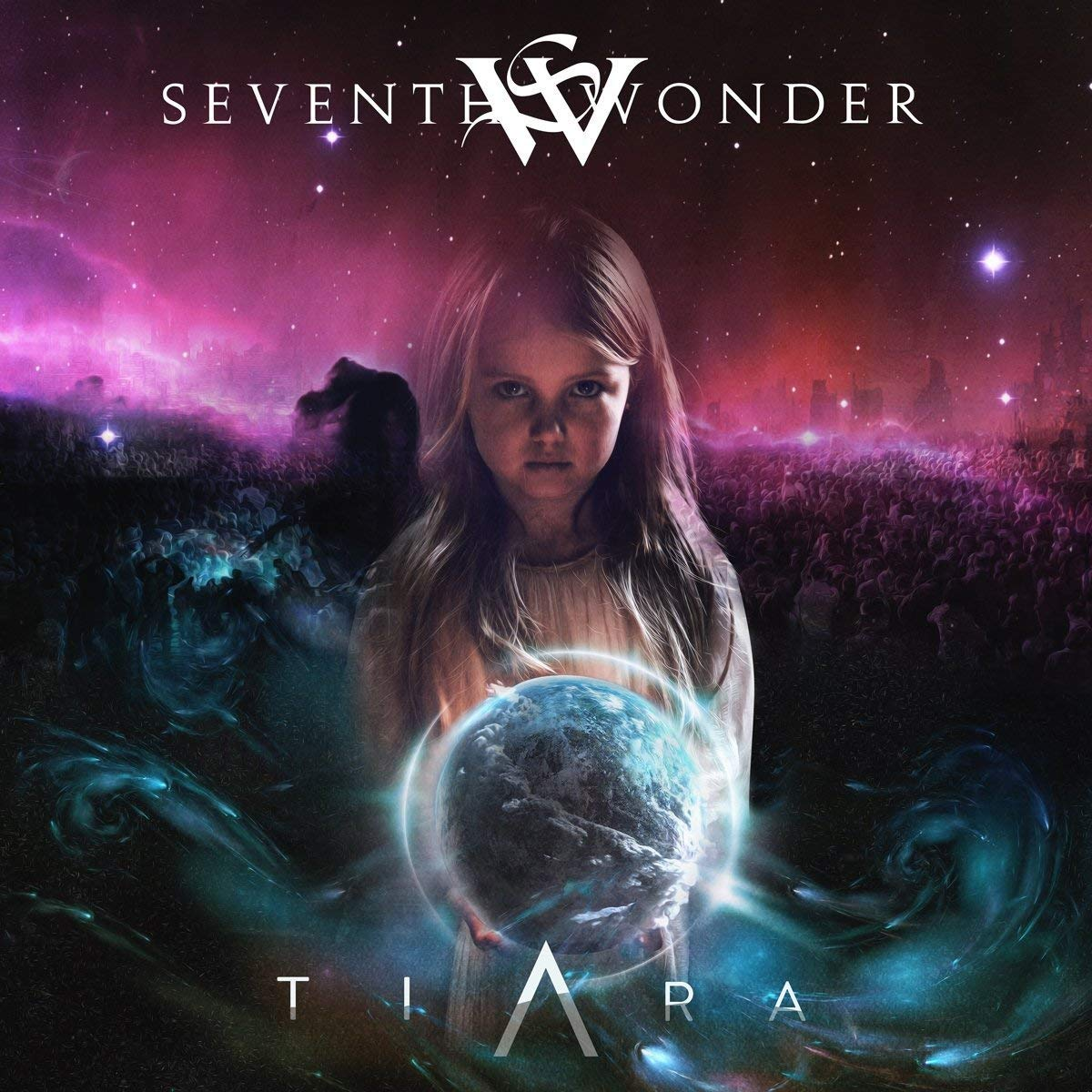 CD : Seventh Wonder - Tiara (CD)