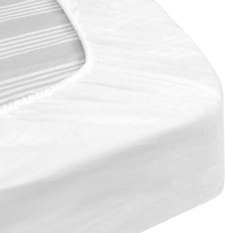 Protege Matelas Impermeable 2x70x190 Cm Lit Articule Tpr Bonnet 23cm Arnon Molleton 100 Coton Contrecolle Polyurethane Amazon Fr Cuisine Maison