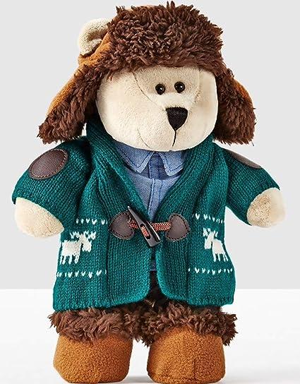 2 Mini Starbucks Bearista Bears Plush 2018 Christmas Limited Edition 4/' Tall New
