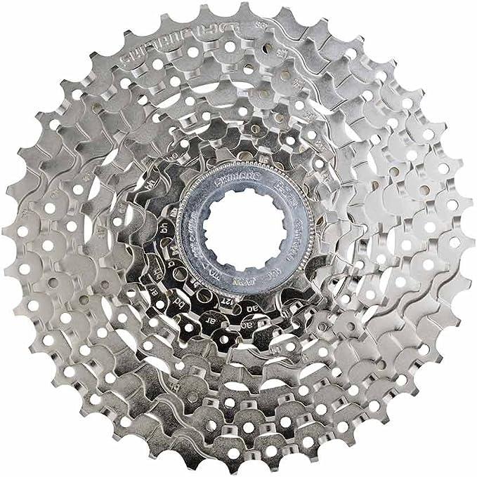 Bicycle verschleißset Cassette Shimano HG400 9 Triple 12-36 Chain Sunrace 116Gl