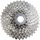 microSHIFT H09 Cassette 9 Speed Silver Nickel Plated for Shimano HG Freehub Body