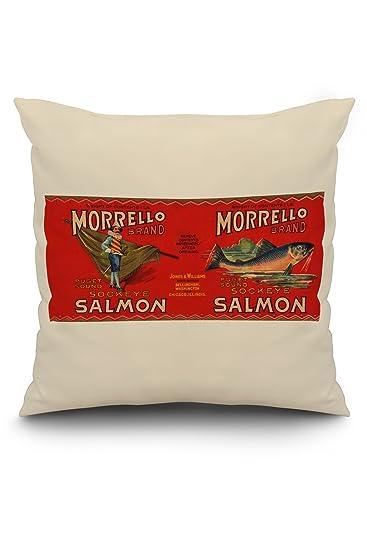 Amazon.com: morrello marca Salmón Label – Bellingham, wa ...