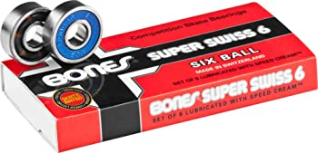 Bones Super Swiss 6 Longboard Bearings