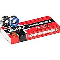 Bones - Roulements De Skateboard Super Six Balls - Taille:one Size