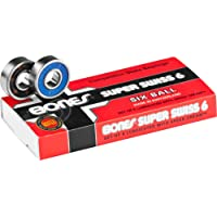 Bones - Roulements De Skateboard Super Six Balls - Taille:one Size