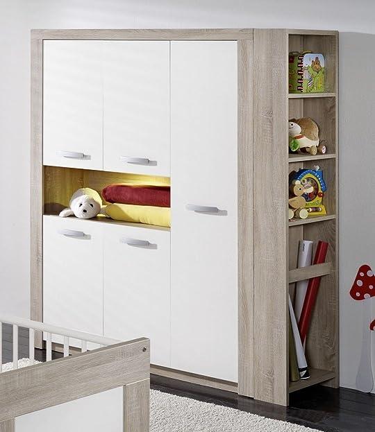 Kleiderschrank kinderzimmer  Dreams4Home Kleiderschrank 'Leo', Schrank Kinderzimmerschrank ...