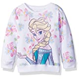 Amazon Price History for:Disney Toddler Girls' froze Elsa Floral All Over Print French Terry Sweatshirt