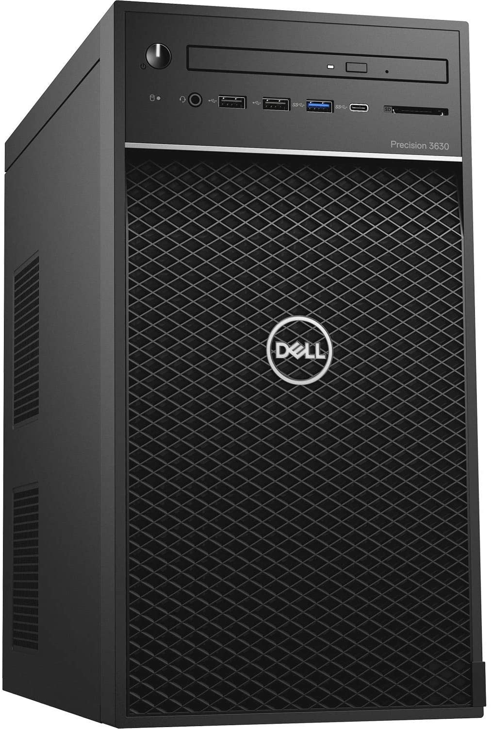 Dell Precision 3630 Workstation, Intel 8th Gen i7-8700 6-Core 3.2GHz (Up to 4.60GHz), 16GB DDR4-2666MHz Memory, 512GB NVMe PCIe SSD, NVIDIA Quadro P600 2GB GDDR5, Windows 10 Pro