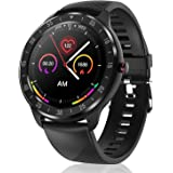 "CanMixs Smart Watch for Android iOS Phones, 1.3"" Touch Screen Bluetooth Fitness Tracker Watches for Men Women, IP67…"