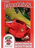 SEKIGUCHI 254760Monchhichi boutique B3DJ Outfit, rouge