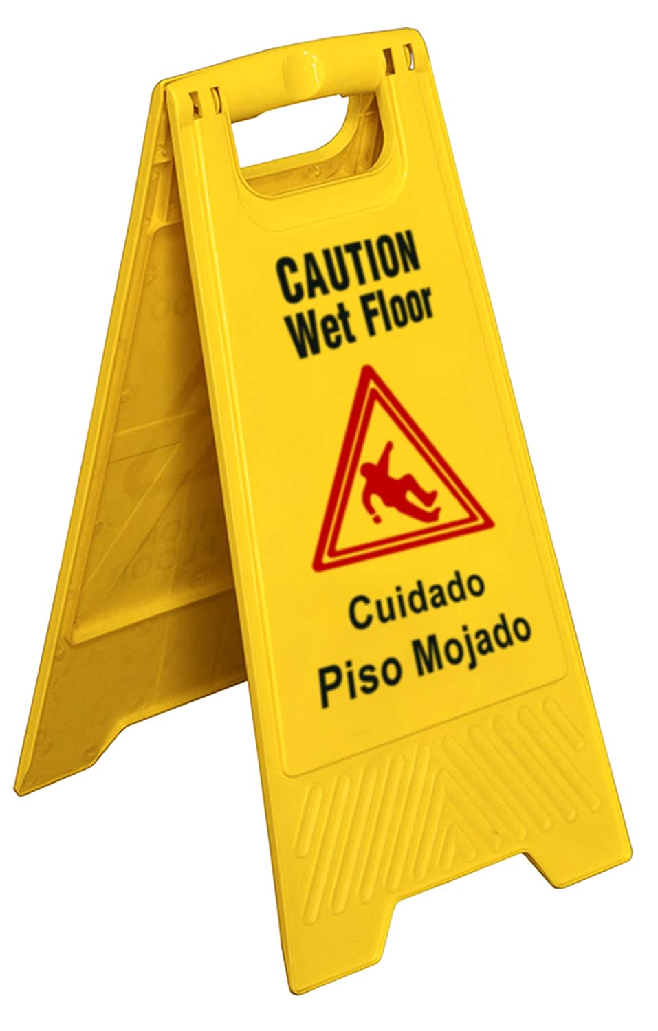 Amazing New Star Foodservice 54613 Safety Caution Wet Floor Sign English / Spanish  25 Inch: Kitchen Products: Amazon.com: Industrial U0026 Scientific