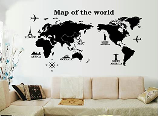 New Home Wall Stickers Travel Letter Quote PVC Art Vinyl Decal Removable Mural