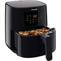 Philips Airfryer Essential L - 0.8 kilo friet - 2 tot 3 personen - 90% minder vet - Multifunctioneel - Digitaal…