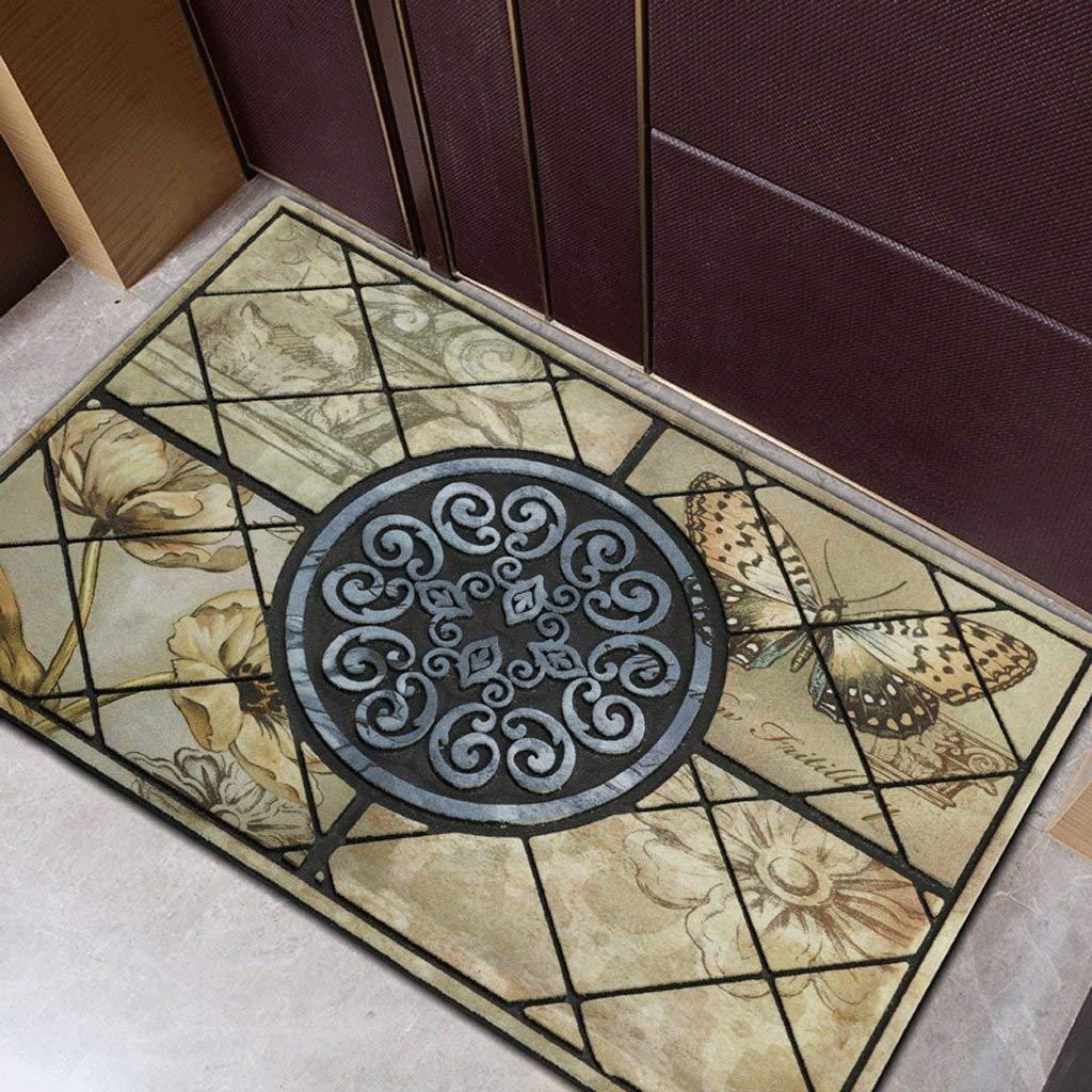 1 Door Matt Indoor Non Slip Hard Wearing Barrier Mat Entrance Door Mat European Mattress Hall Mats Personalized Fashion Rubber Door Mats at The Gate of The Floor Mats, Kejing
