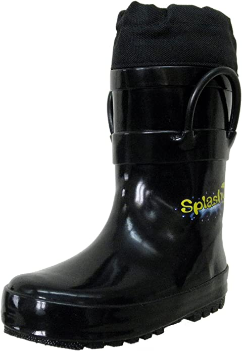Mud /& Snow Boots with The Extra Long Protective Cuff Splashy Childrens Rain