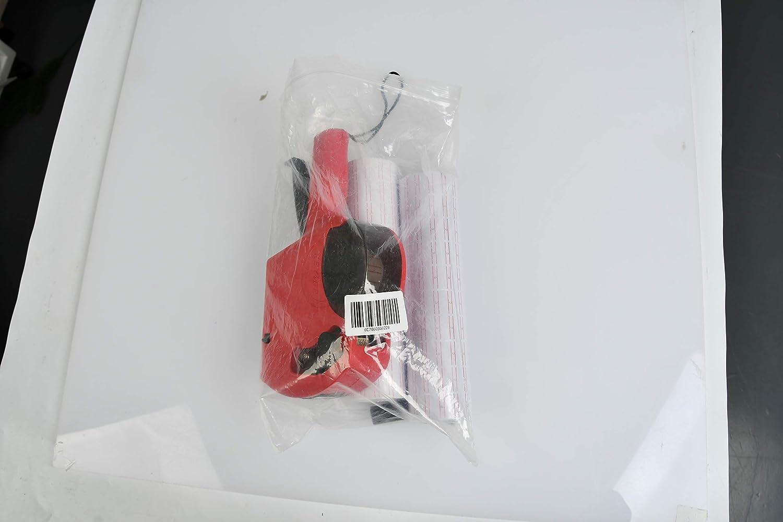 Preis Etiketten Drucker Labeler QLOUNI Discountoase Preisauszeichner 20 Rolle Preislabel Aufkleber// 1 x Tinte Refill MX-5500 EOS Professional Spar-Set Etiketten inkl