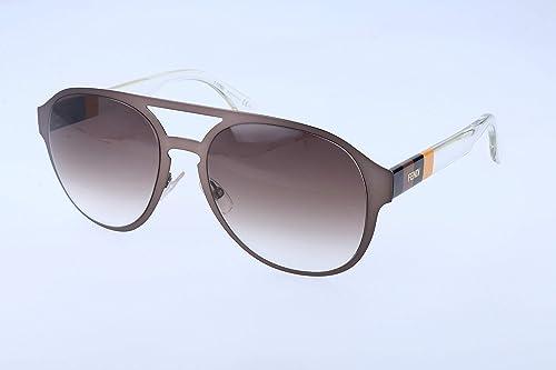 Amazon.com: Fendi 0082/S – Gafas de sol de las mujeres, café ...