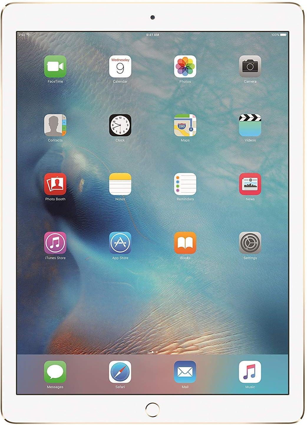 APPLE MQDD2LL/A iPad Pro with Wi-Fi 64GB, 12.9in, Gold (Renewed)