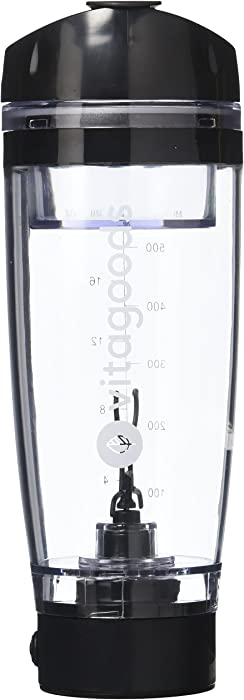 Vitagoods Fitmix Portable Mixer Bottle Pro Portable-600 ml Capacity, 8,000 RPM Motor, BPA Free &Hellip, Count