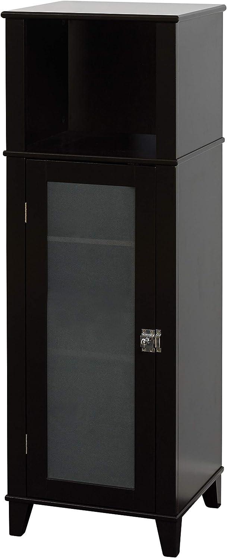 Zenna Home Classic linen cabinet, Espresso