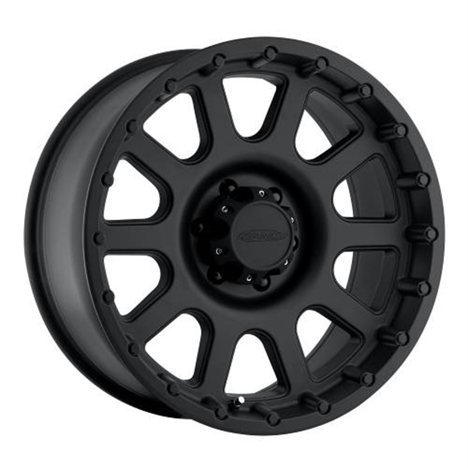 Pro Comp Alloys Series 32 Wheel with Flat Black Finish (18x9''/5x150mm)