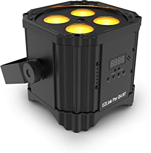CHAUVET DJ Stage Light Unit, Black (EZlink Par Q4 BT)