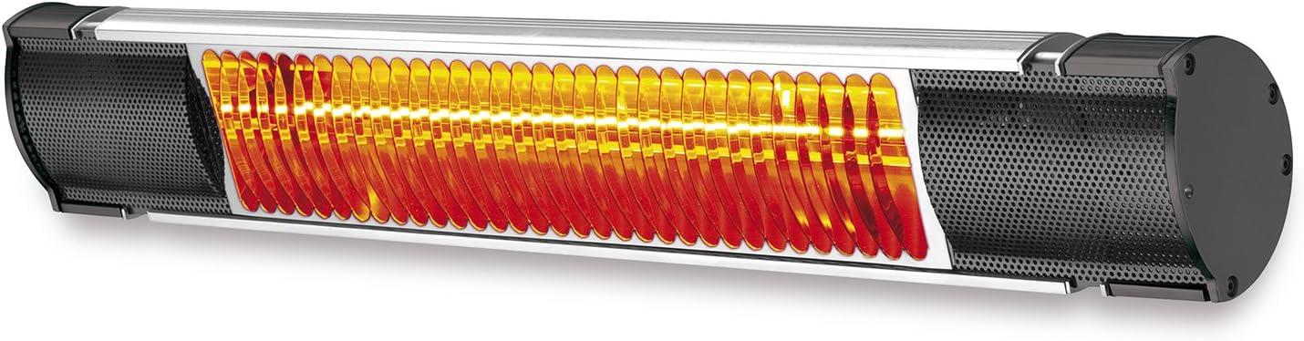 Plein Air Plein NEW Air 65432KW20 Radiador Radiant Infrarrojos, IP 55, 2 KW - Radiador de cuarzo