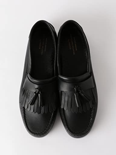 Boat Sole Kiltie Tassel Loafer 3231-499-1614: Black