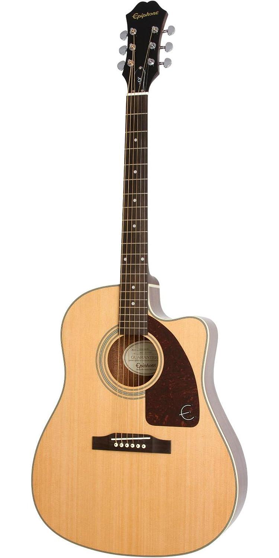 3059d956d37 Amazon.com: Epiphone AJ-210CE Acoustic/Electric Outfit - Natural: Musical  Instruments